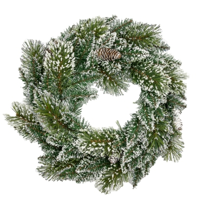 wreath from Dobbies