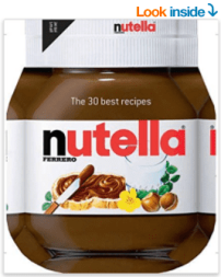 nutella recipe book