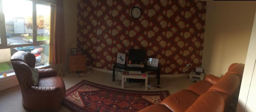 panorama of the living room!
