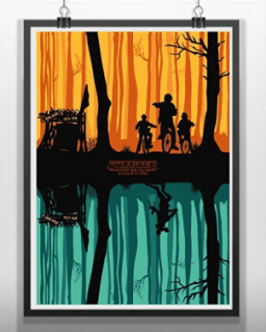 stranger things amazon print